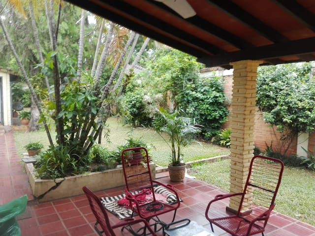 Spacious in-suite room Bo. Herrera, Asuncion - Asunción - Apartment