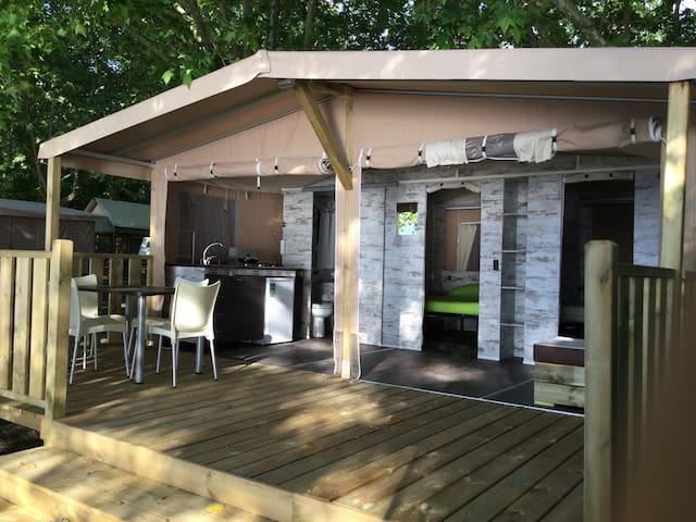Bellissima Lodge Tent, glamping sulla spiaggia - 羅馬 - 帳篷