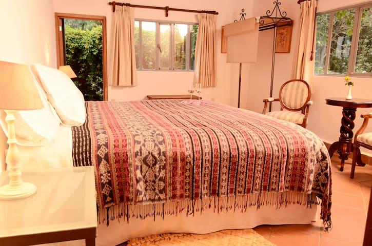 """""""El Leon"""" suite in Quinta Cielo."""