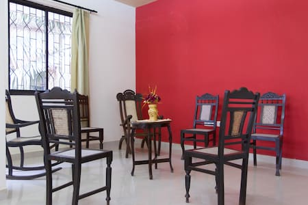 Large clean 2BHK Goan apartment in Margao centre - Margao