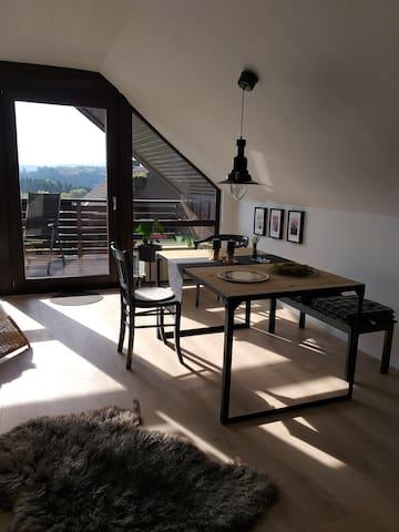 Schöne gemütliche Dachgeschoss-Ferienwohnung