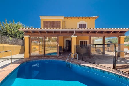 SPACIOUS VILLA for 10 - Pool and BBQ in Paguera - Huis