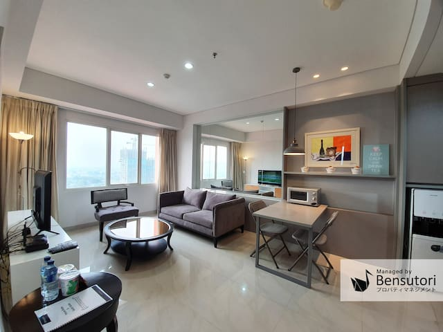 Homey & Convenient Apartment at South Jakarta