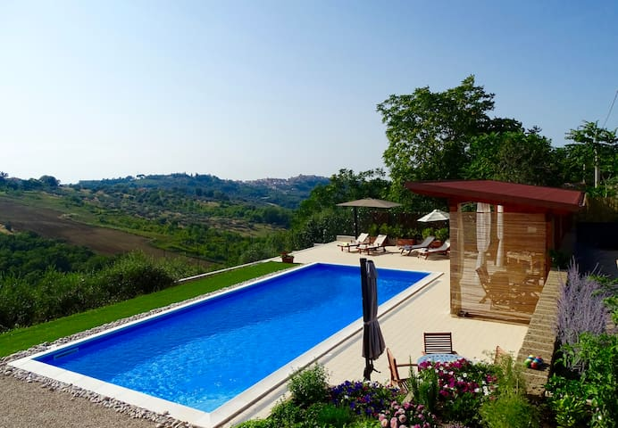 Beautiful Villa Private Pool one/two bedrooms - Torino do Sangro - Villa