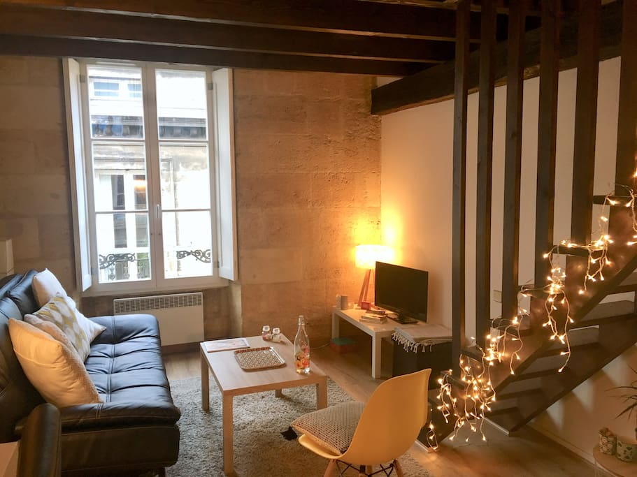 Appartement duplex grand th tre appartements louer for Appartement bordeaux grands hommes