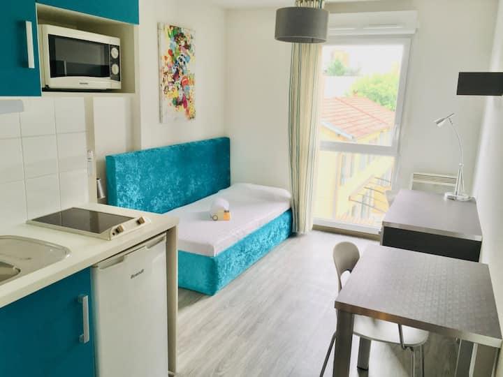 Studio in the Doua campus in Villeurbanne (A205)