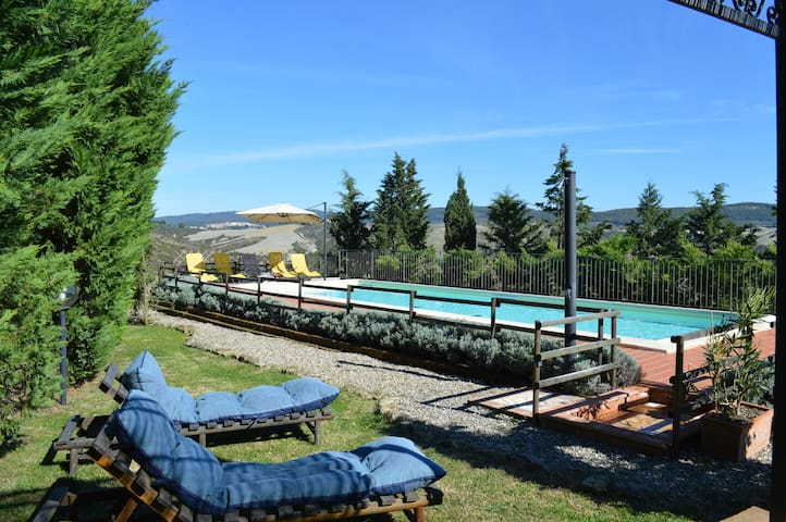 Private house in country side with swimmingpool - Asciano - Maison