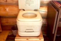 cabin porty a potty