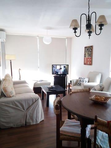 Luminoso y cómodo apartamento en Malvin