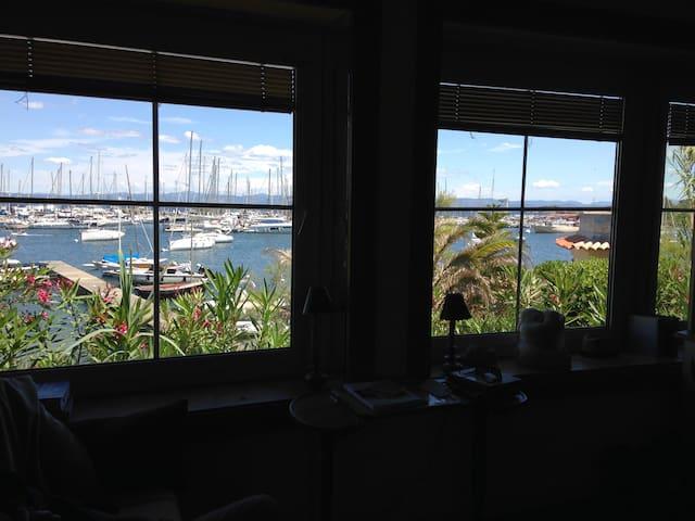 studio sur le Port de Porquerolles - Hyères - Lägenhet