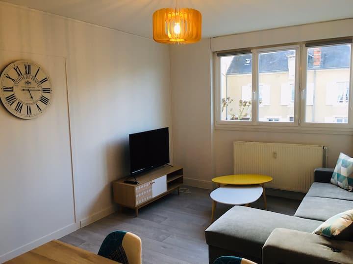 Logement Clinique Saint François /Centre Ville 4