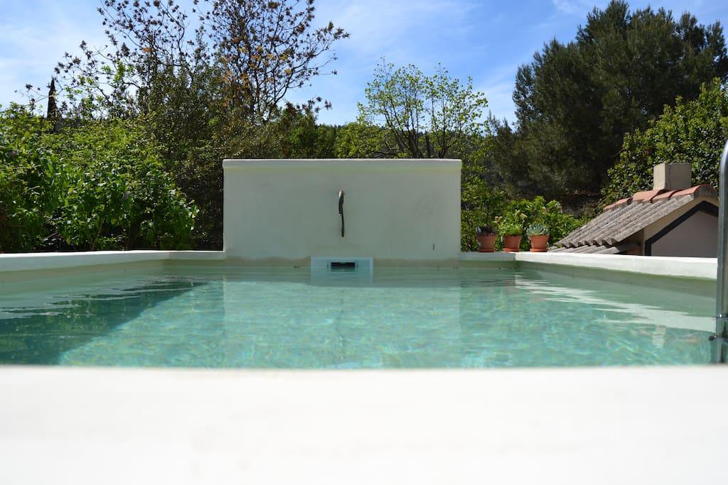Maison dans la pin de avec piscine houses for rent in for Piscine de gemenos