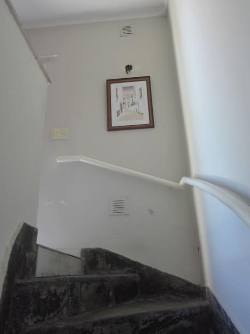 entrada en primer piso