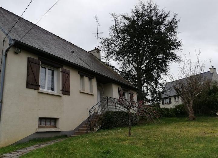 Maison 3 chambres en Bretagne 10 minutes de la mer