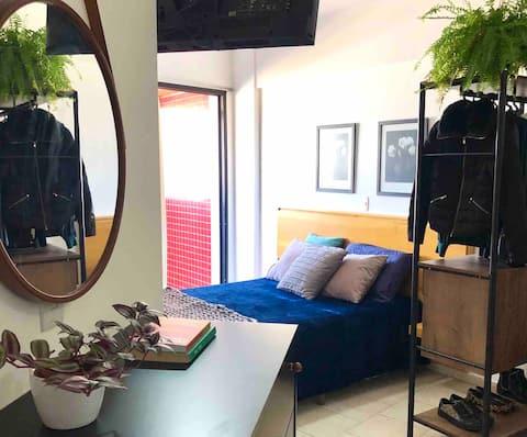 Apartamento Studio com piscina em Americana-sp