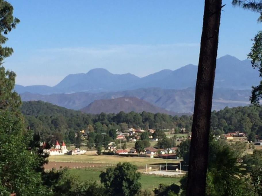 Vista al Valle de Cerro Gordo
