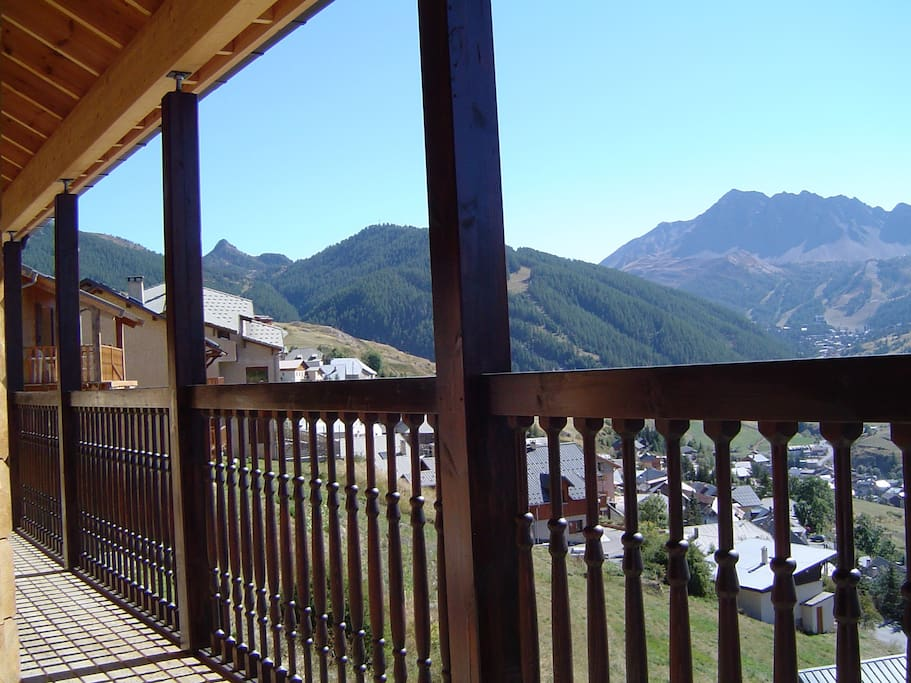 balcon sud