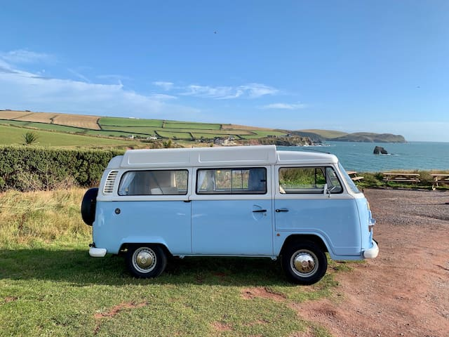 Doreen the Retro VW T2 Campervan