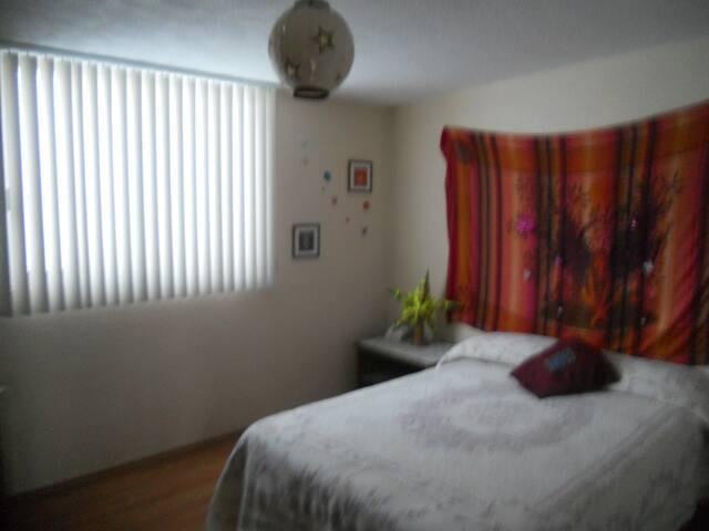 Bonita habitación en ambiente seguro y confortable