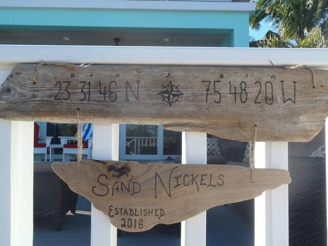 Sand Nickels Hoopers Bay Beach House
