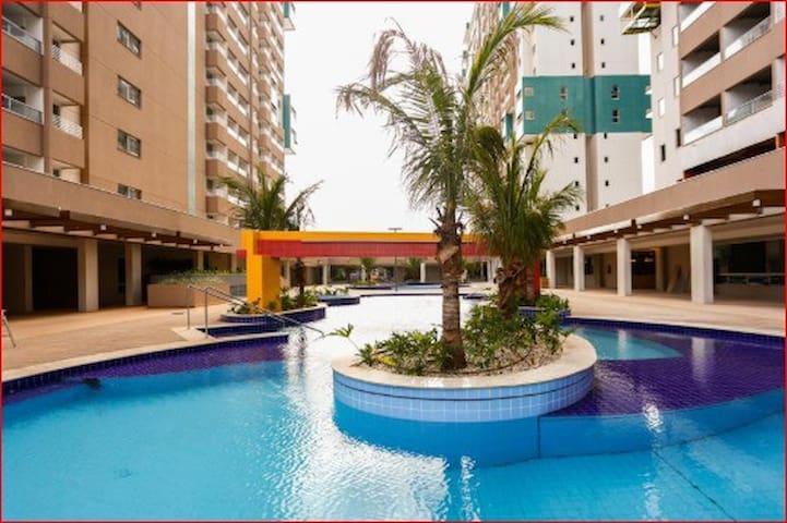 Apto-1quarto em Resort de luxo com preço acessivel