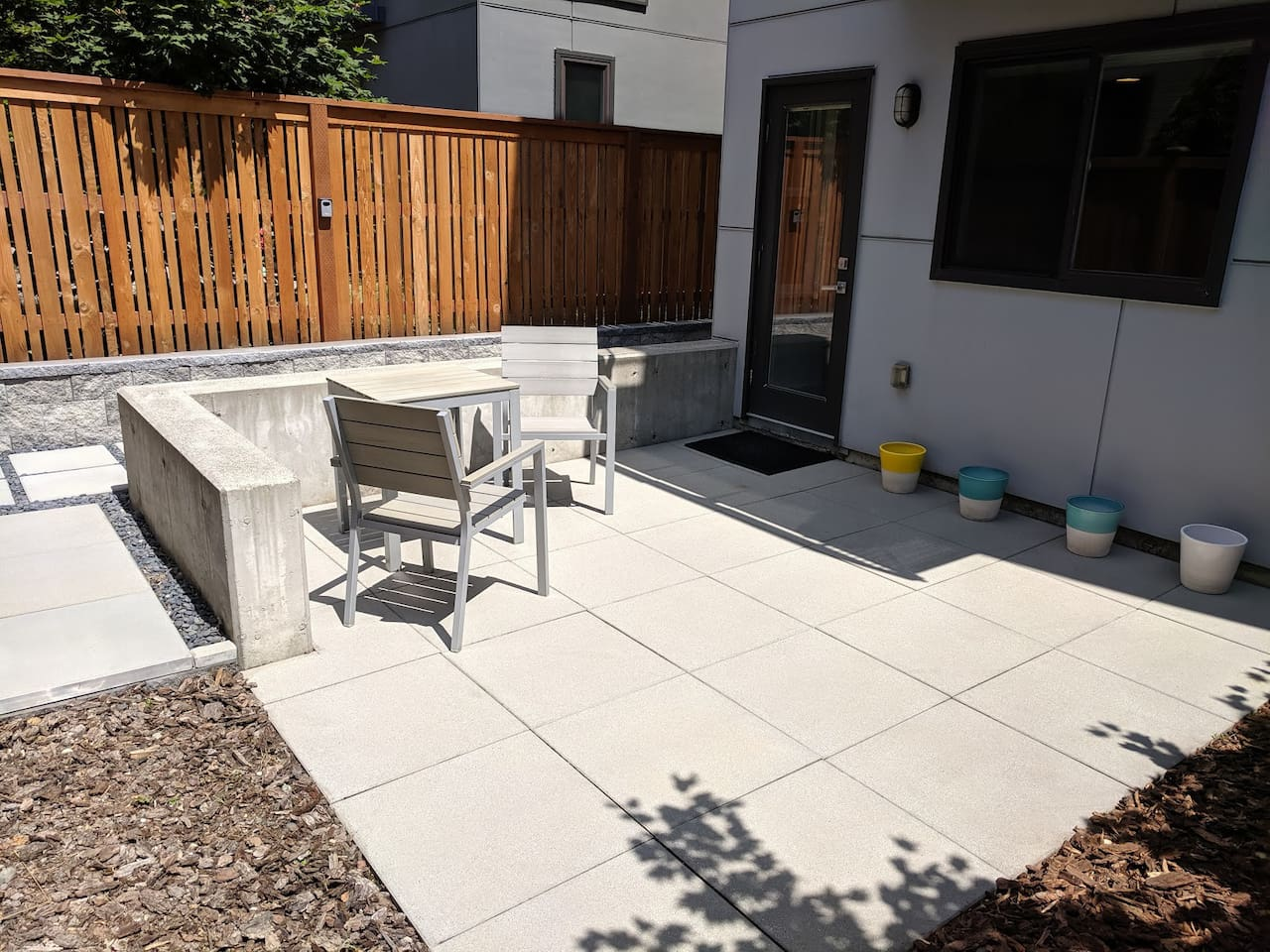 Welcome to your patio with private entrance