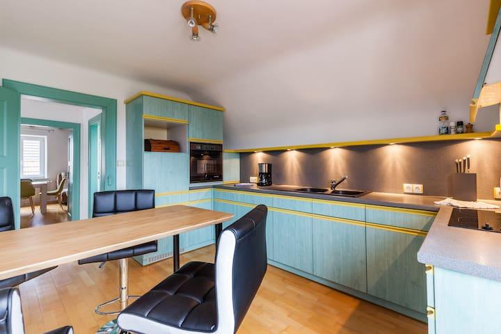 Appartement familial au calme près Colmar - Sundhoffen - Huoneisto