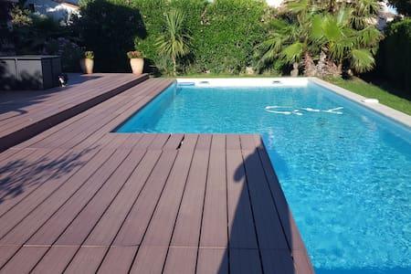 Avis 4.9 * , piscine 1 ou  2 chambres, 4 pers maxi