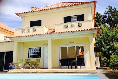 House Aroeira Lisbon with pool near beach