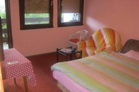 2 Person French Bed Bedroom1, Kotor
