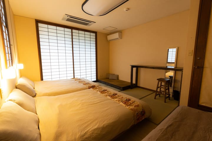 A3《4〜6 guest》PRIVATE ROOM. Japanese Garden