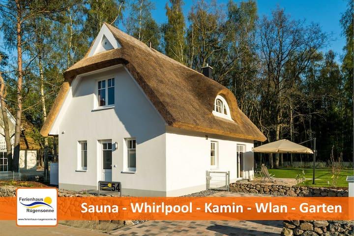 Ferienhaus Rügensonne Glowe - Rügen - Glowe - House