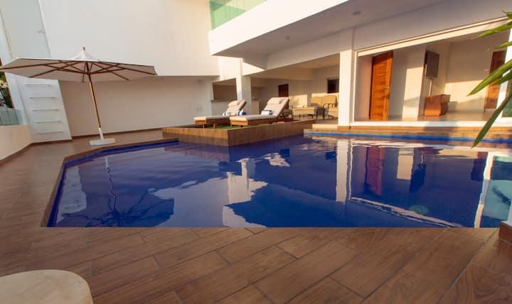 Villa Herradura Acapulco vista al mar espectacular