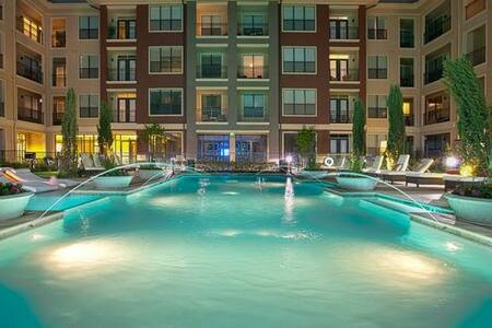 Beautiful Pool view 1bd (Galleria) - Houston - Appartamento