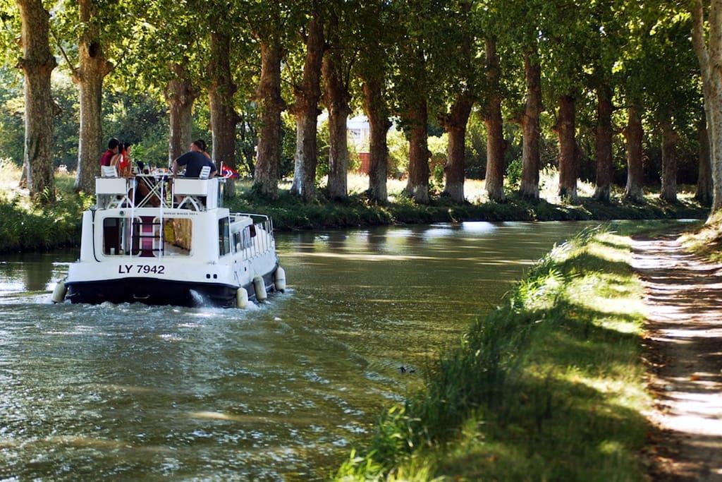Balade sur le canal