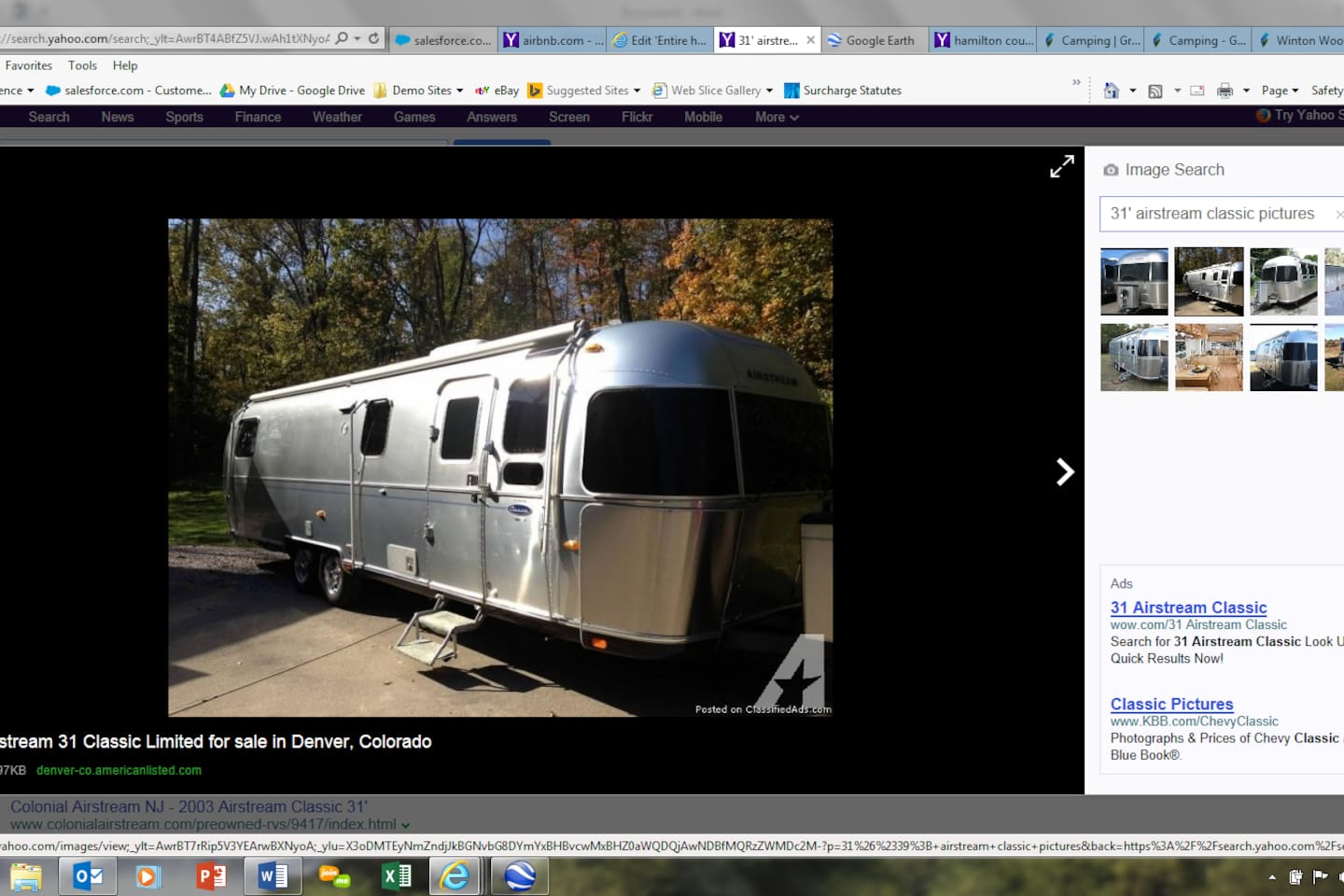 Airstream for All Star Game - Campers/RVs for Rent in Cincinnati ...