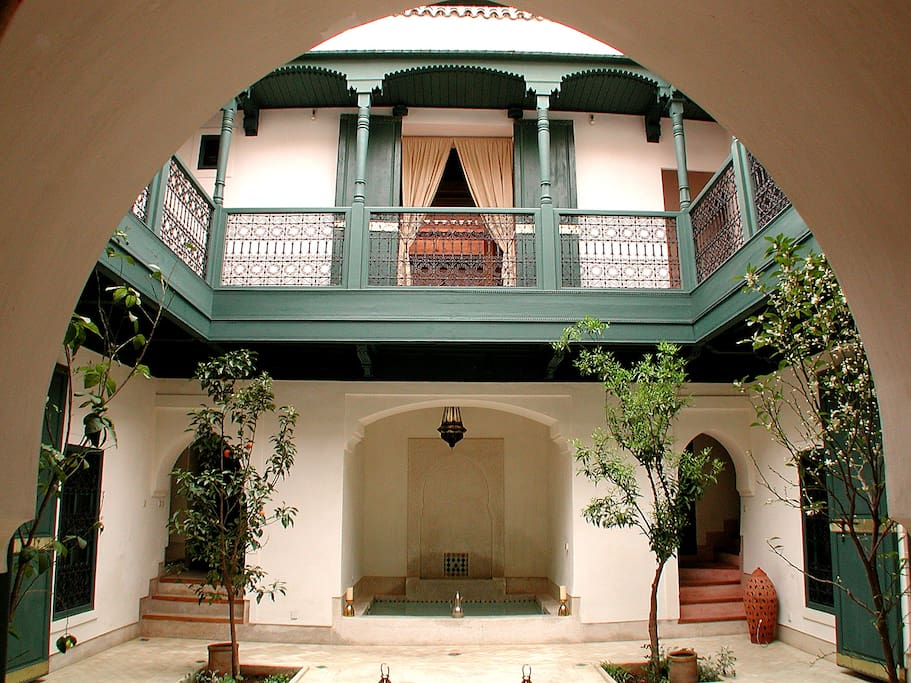 patio du riad
