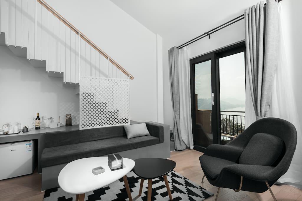 复式海景loft套房