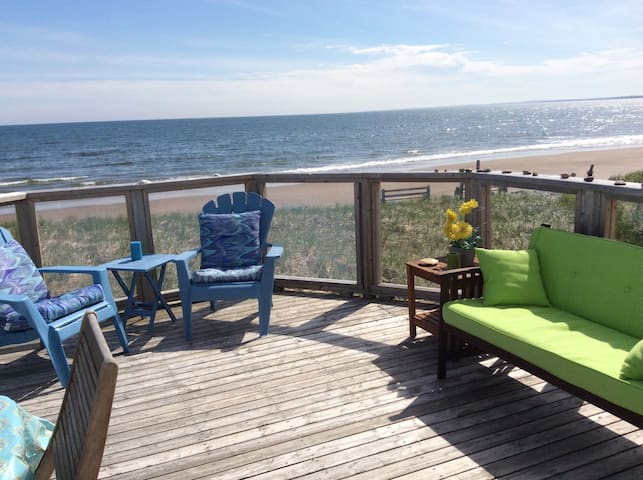 SEASPRAY OCEANFRONT Studio Apt. - East Lawrencetown - Casa