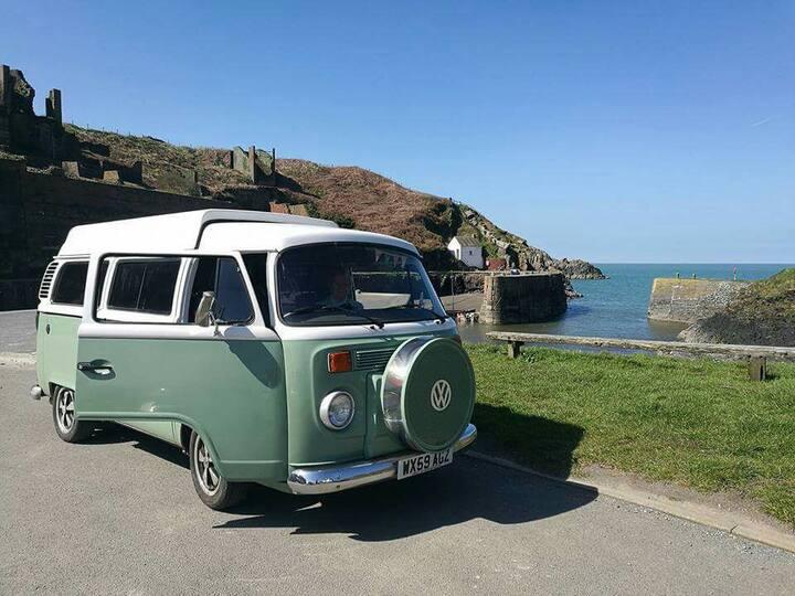 Willow the VW Camper Van, Pembrokeshire
