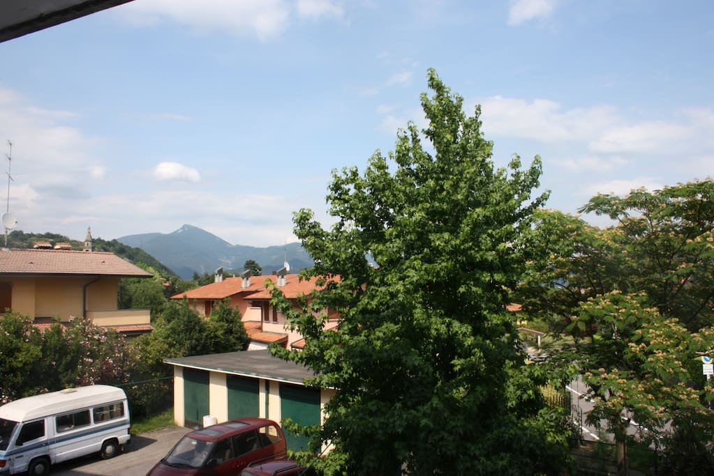 Italian Mountains View