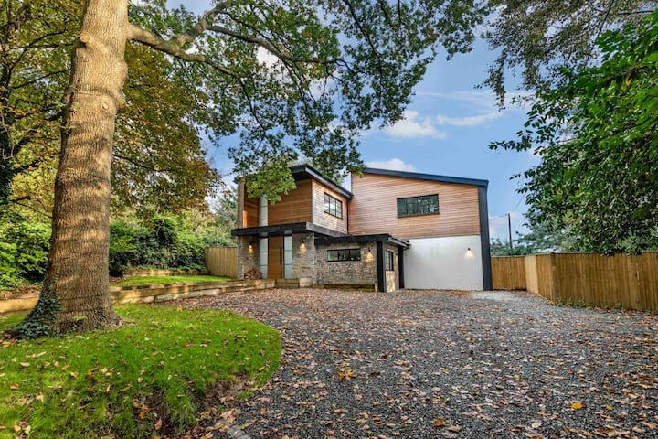 Ultra Modern Home at foothills of the South Downs