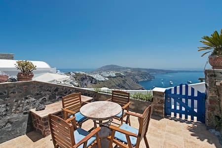 Adam & Eve villa-Spectacular views - Imerovigli