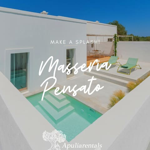 Masseria Pensato SUITE ULIVO with privated Pool
