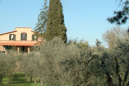 Camera blue con tramonto - Corchiano - Bed & Breakfast