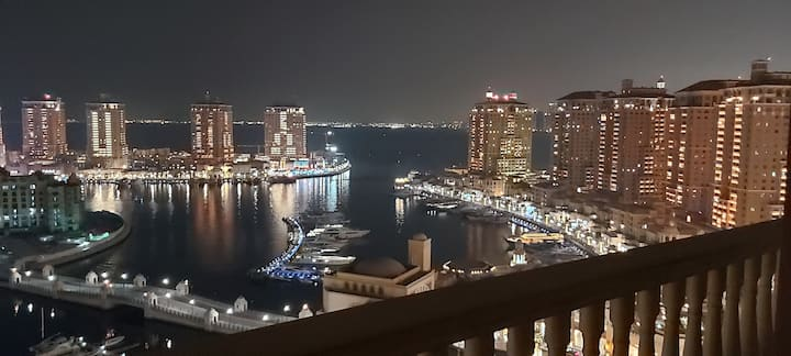 3Bedroom Family appartment in heart of pearl qatar