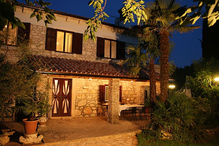 Trditional istrian stonehouse