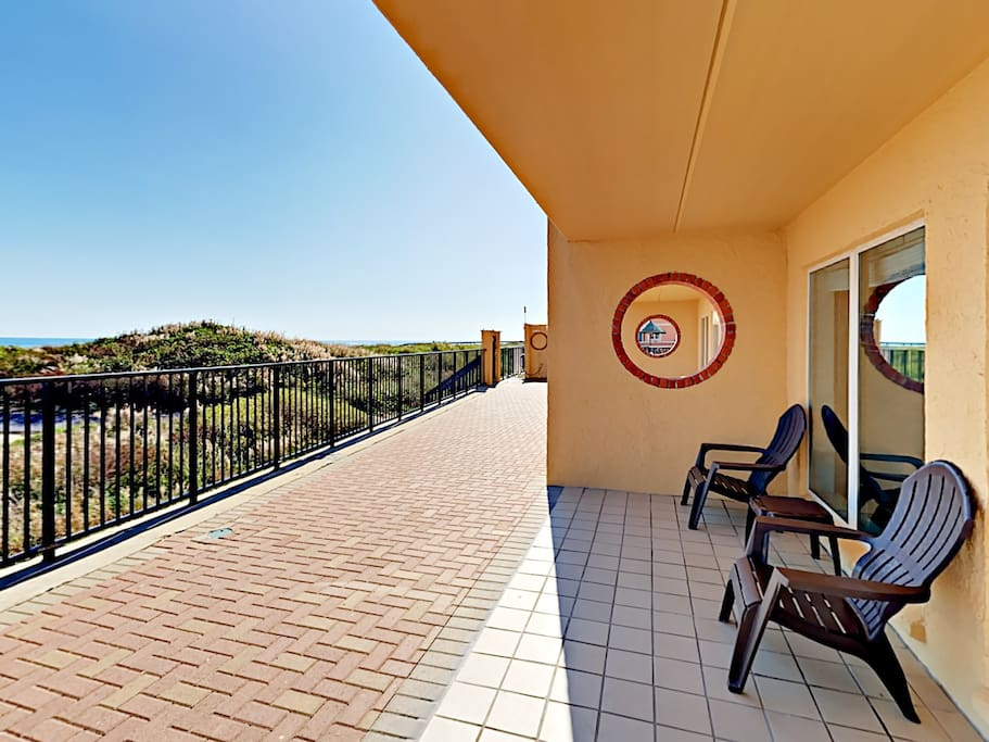 Enjoy beautiful Gulf views from your back patio. This property is professionally maintained and managed by TurnKey Vacation Rentals.