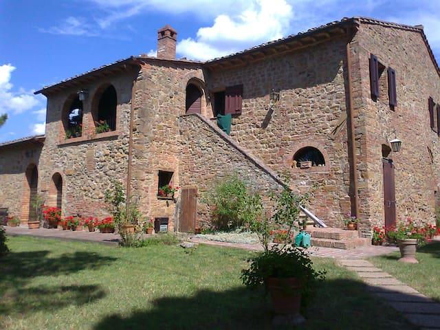 Il Poggiarello (A.D. 1656), Apartment La Terrazza - Montaione - Flat