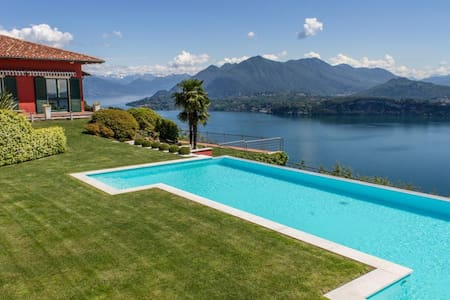Superb villa with pool and sweeping lakeviews - Stresa